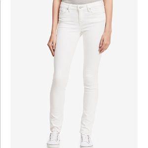 Calvin Klein Ultimate Skinny White Wash Jeans